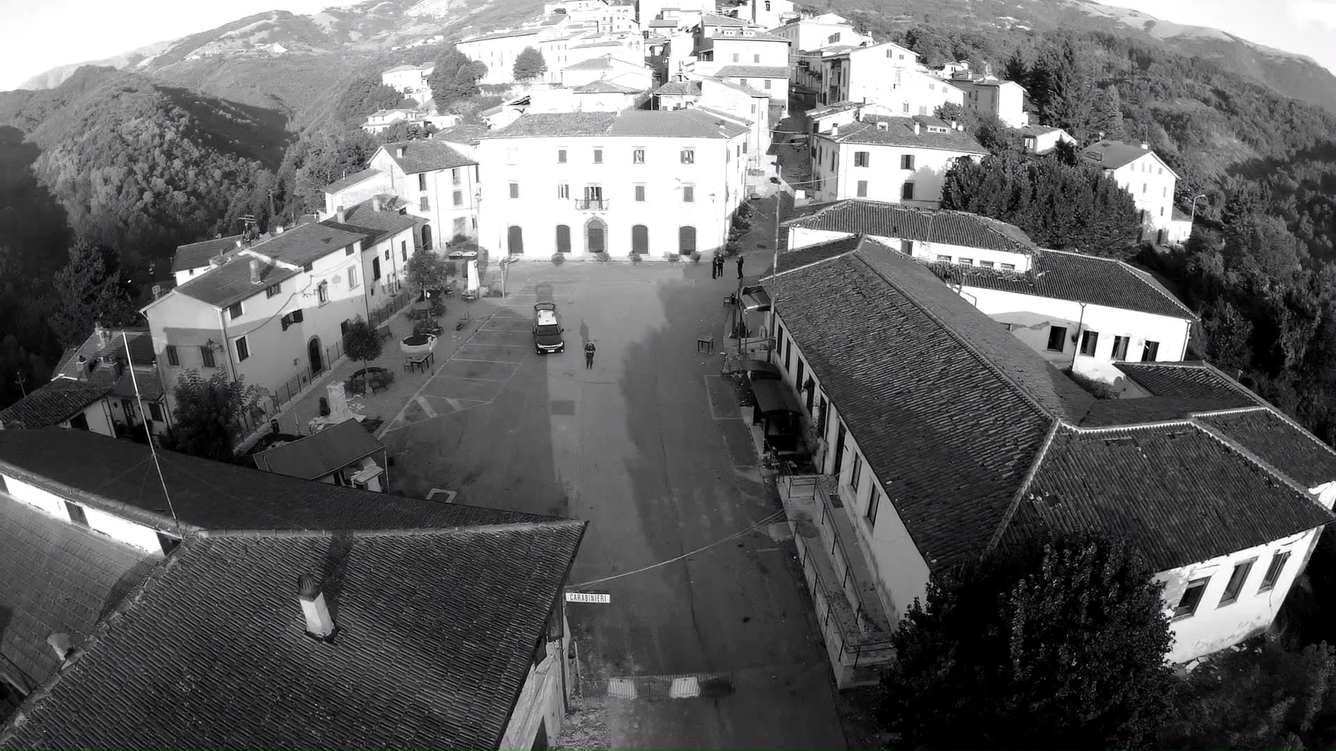Vista dall'alto di Accumoli - Settembre 2016
