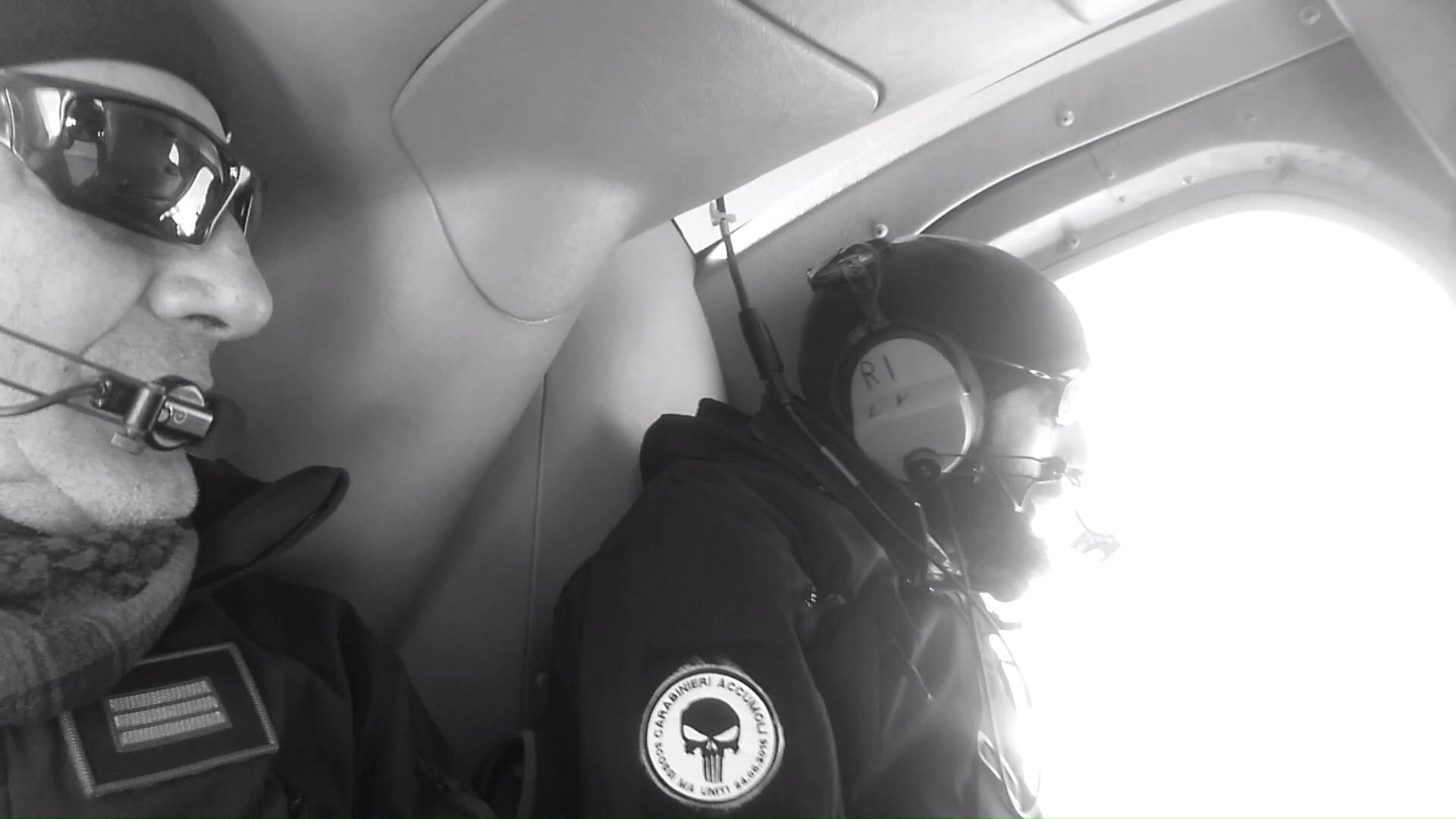 Ricognizione aerea alla ricerca di animali dispersi
