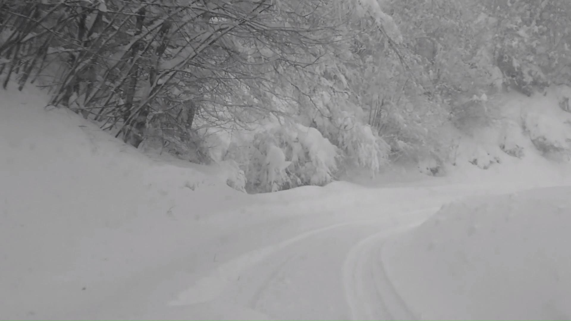 L'inverno ad Accumoli